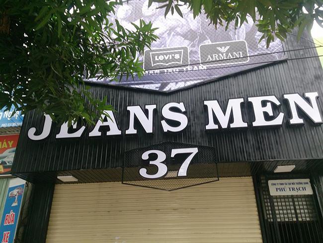 Làm biển quảng cáo chữ nổi tại Hoàn Kiếm