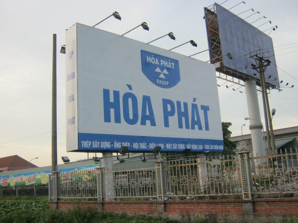 Làm biển quảng cáo tấm lớn tại Hai Bà Trưng