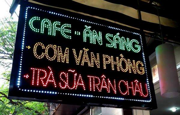 Làm biển quảng cáo tại Ba Đình