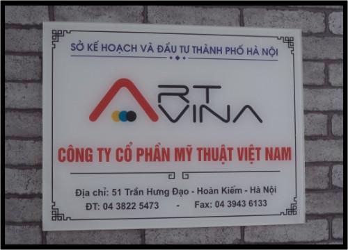Làm biển công ty tại Long Biên