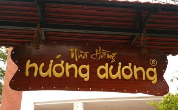 Làm biển gỗ tại Long Biên
